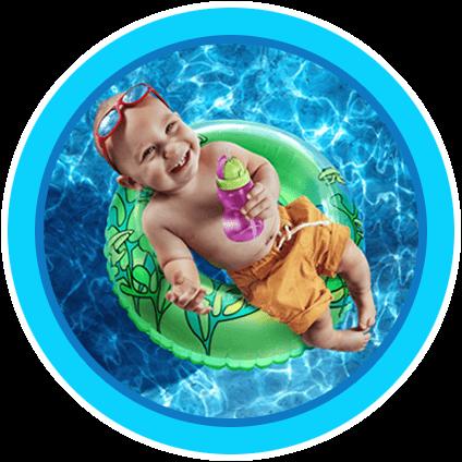 בריכת קיץ לילדים